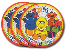 1st-Toddler Birthday Party Plate