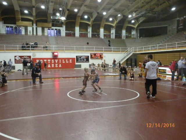 carson wrestling for crimson tide,pottsville