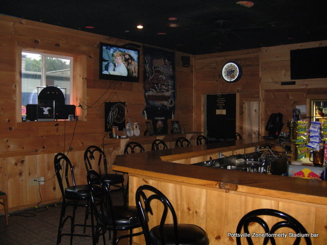 pottsville zone stadium bar